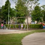 Johan Frisoschool schoolplein